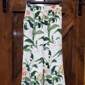 Ann Taylor Floral  pants NWOT